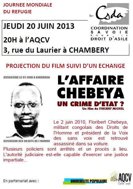 L'affaire Chebeya, un crime d'état? projection le 20 juin